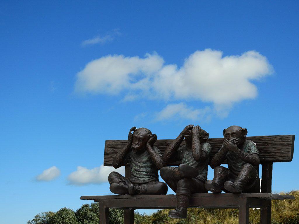 trois singes Perles & Équilibre accords